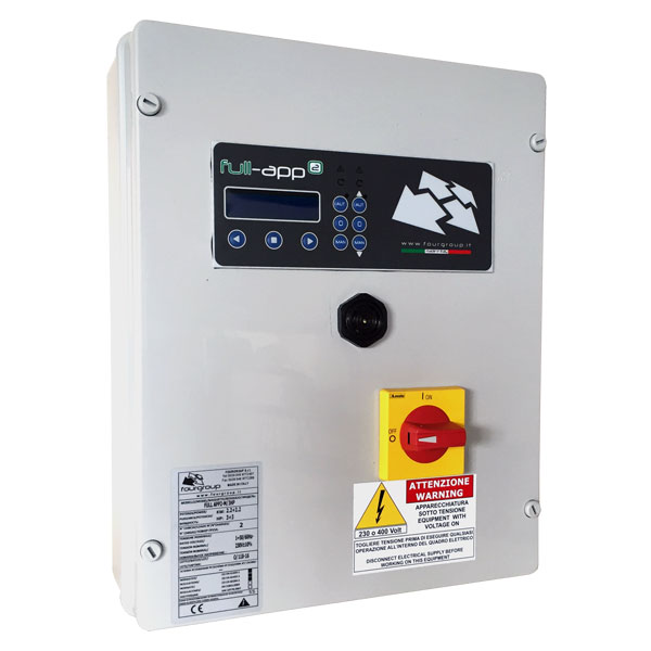 Full App2 Electronic Control Panel For Use With Single