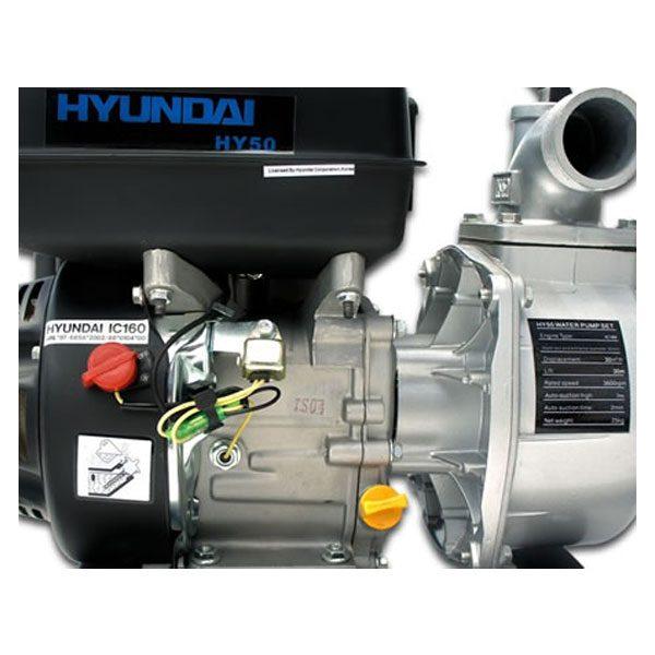Hyundai HY50 Petrol Powered Water Pump_4