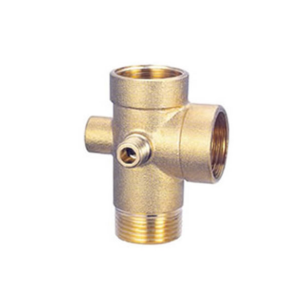 5 Way Brass Connector